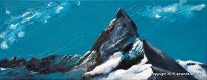 Matterhorn mixed media